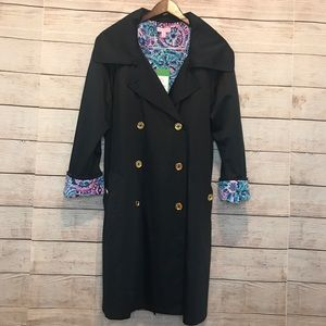 Lilly Pulitzer Qynn double breast trench coat